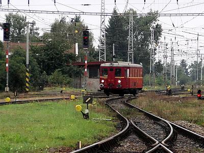 08.09.2007 - Hradec Králové hl.n.: M 131.1133 přijíždí jako zvláštní vlak z Pardubic hl.n. © PhDr. Zbyněk Zlinský