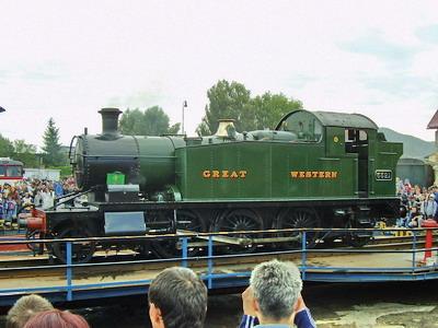 08.09.2007 - RD Zvolen: Anglicko GW 5221 predstavenie sa na točni © Ľudovít Vanek