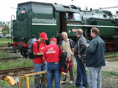 08.09.2007 - RD Zvolen: Tím vlakov sa pripravuje na GP © Ing. Igor Molnár