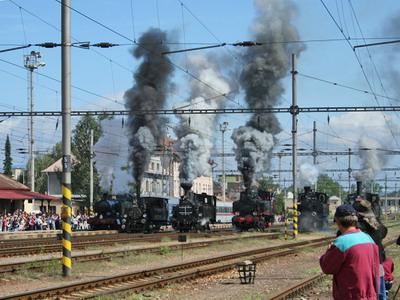 08.09.2007 - Nákladná st. Zvolen: Odštartované © Ing. Martin Filo