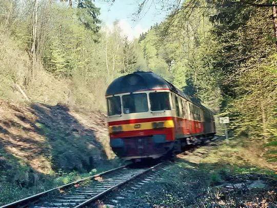09.05.1997 - Železný Brod: 853.015 na R 940 © Václav Vyskočil