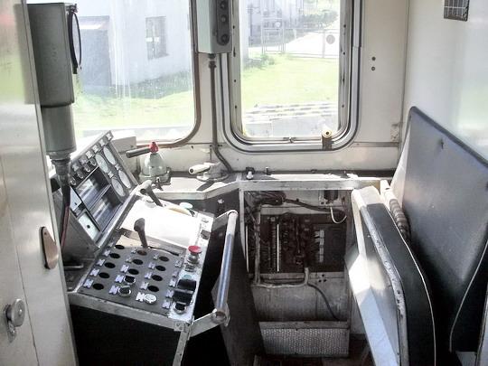 21.05.2005 - Meziměstí: prototyp 860.001-7 - zadní stanoviště, řídicí pult © PhDr. Zbyněk Zlinský