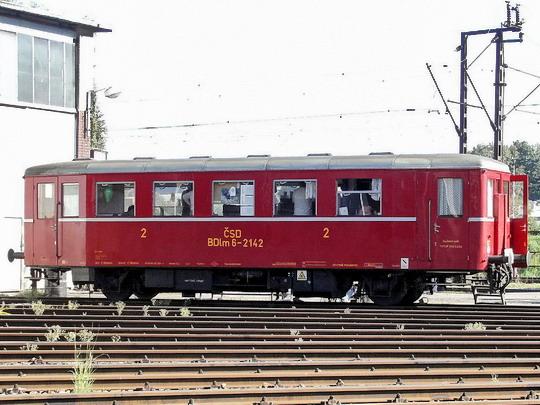 23.09.2006 - DKV Česká Třebová: Den železnice - přípojný vůz BDlm 6-2142 jako bufet © PhDr. Zbyněk Zlinský