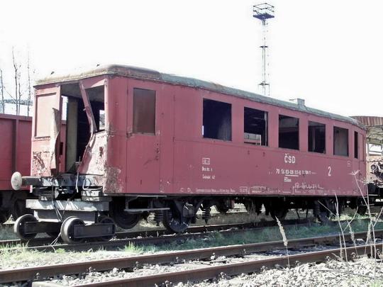 15.04.2007 - PJ Česká Třebová: přípojný vůz se služebním oddílem 83-09 111-6 BDaax © PhDr. Zbyněk Zlinský