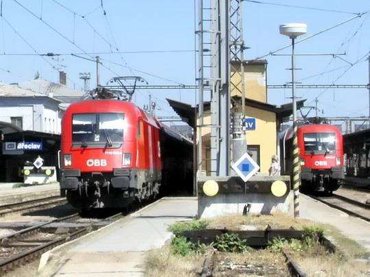 Že by nedaleká budoucnost našich železnic bez nás? (Břeclav  25.8.2007)  © PhDr. Zbyněk Zlinský