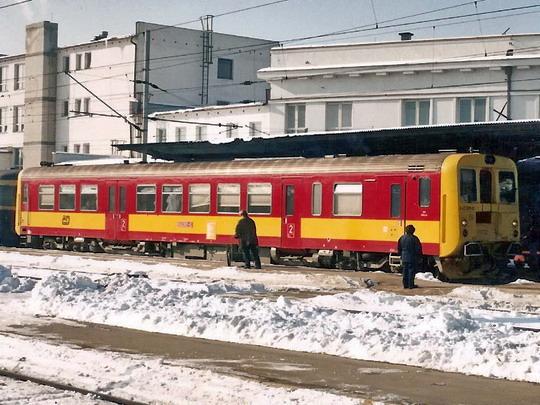 31.01.1995 - Břeclav: 842.001-0 po příjezdu na MOs 4535 © Milan Vojtek