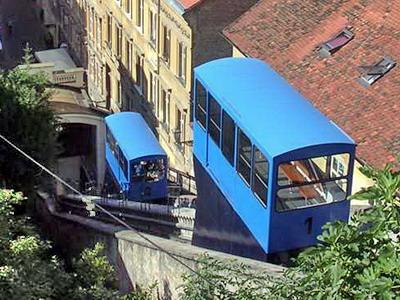Zagreb-lanovka, 12.7.2007 © Aleš Svoboda