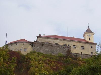 5.10.2007 - Mukačevo: hrad Palanok © Jiří Slavíček