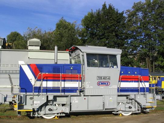 24.9.2005 - ČMKS Česká Třebová: prototyp 709.401 © Tomeš