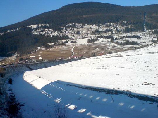 Vlak na snehu, Telgárt, 27.12.2007 © jaščurka