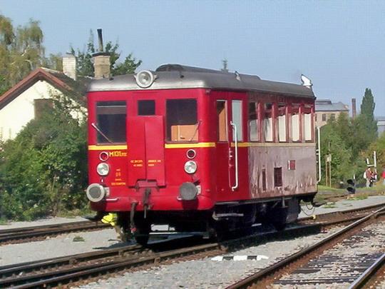 """02.10.2004 - Slatiňany: """"Hurvínek"""" M 131.1133 (Studénka 1949) © PhDr. Zbyněk Zlinský"""