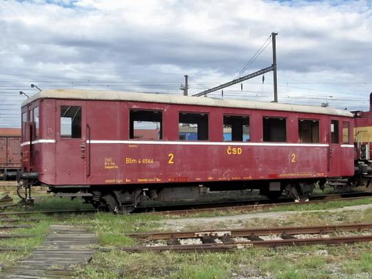 29.09.2007 - PJ Břeclav: přípojný vůz Blm 4-6564 (Studénka 1954) © PhDr. Zbyněk Zlinský