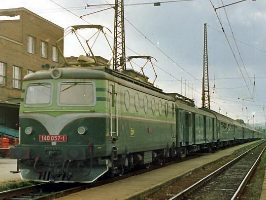 17.09.1993 - Žilina: 140.057 © Václav Vyskočil