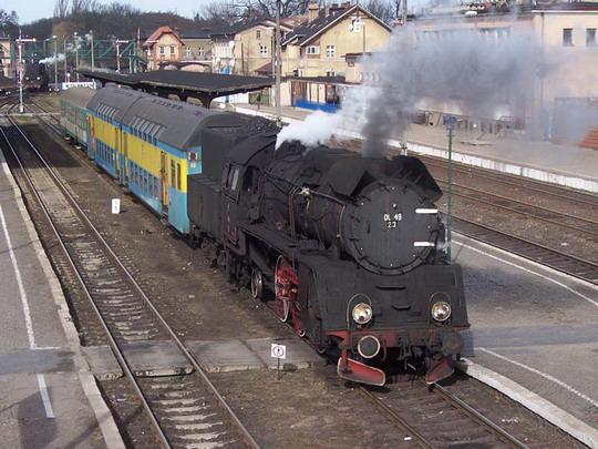 23.02.2008 - Wolsztyn: Ol49.23 Os 77433, © Vojtěch Vyskočil