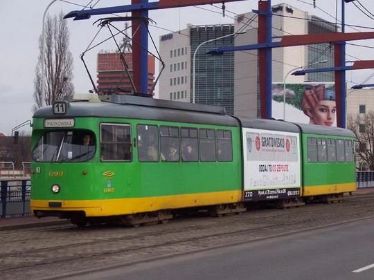 23.02.2008 - Poznaň gl.: Tram. ev.č.692, © Václav Vyskočil