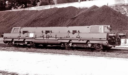 Prototypové vozidlo T 481.001 na továrním snímku, Studénka 1957