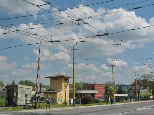 Prešov - Križovanie s trolejbusovým vedením, 10.5.2006, © Tomáš Rotbauer