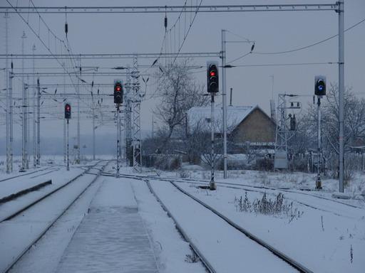 Romantika v zime... (Úľany nad Žitavou, 11. 2. 2006) © Ing. Marko Engler