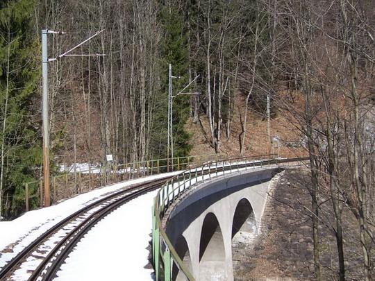 30.3.2008 – Eirzeilgraben viadukt, délka 34 m © Marek Topič