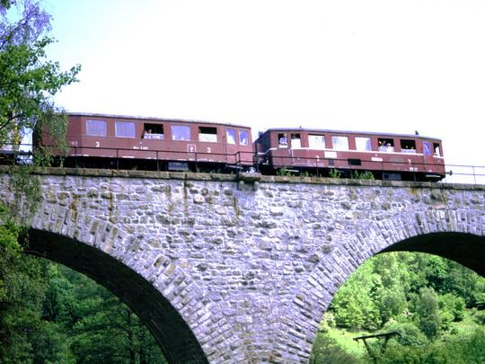 31.5.1997 - Poslední jízdy na trati číslo 144 Krásný Jez Chodov - 31.5.1997  - foto © Ing.Radim Strycharski