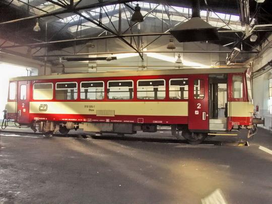 29.09.2007 - Břeclav: 010.326-7 (Studénka 1978) v rotundě © PhDr. Zbyněk Zlinský