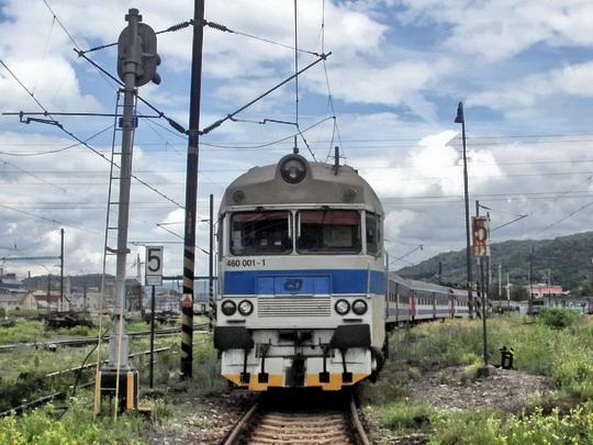 30.06.2007 - PJ Ústí n.L.: elektrický vůz 460.001-1 (ex EM 488.0001, Studénka 1971)© PhDr. Zbyněk Zlinský