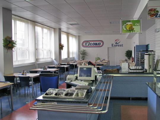 17.04.2008 - CZ LOKO Česká Třebová: jídelna © PhDr. Zbyněk Zlinský