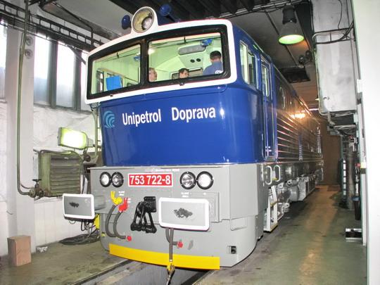 17.04.2008 - CZ LOKO Česká Třebová: zkušebna lokomotiv - 753.722-8 UD © PhDr. Zbyněk Zlinský