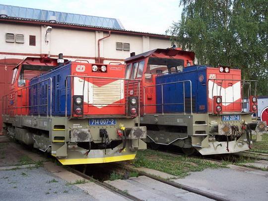 Meziměstí 3.7.2005 714.007 + 714.207, © Václav Vyskočil