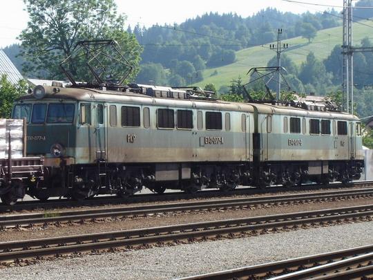 Skalité - lokomotíva PKP s nákladným vlakom, 9.6.2007,  © Tomáš Rotbauer