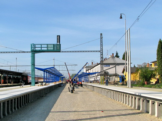 02.05.2008 - Břeclav: přestavba železniční stanice © PhDr. Zbyněk Zlinský