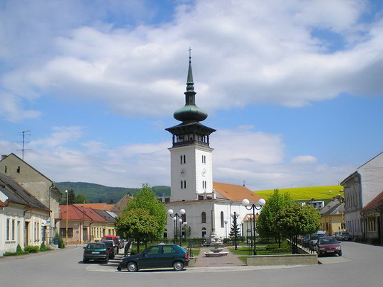 11.5.2008 - Medzev: centrum mestečka © P.Nohavica