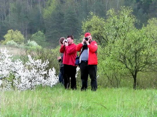 04.05.2008 - úsek Matejovce n.H. - Chrasť n.H.: Tomáš, Krokodilko a Shalomek v akci © PhDr. Zbyněk Zlinský