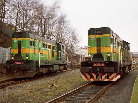 5.03.1999 - Liberec LD 743.001, 743.006,© Václav Vyskočil