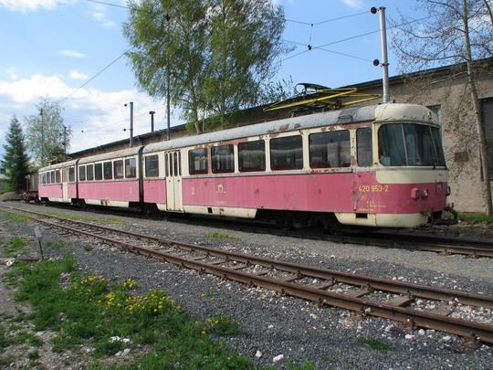 05.05.2008 - RD Poprad: 420.953-2 © PhDr. Zbyněk Zlinský