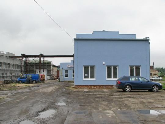 22.05.2008 - CZ LOKO Jihlava: výstavba probíhající a hotová © PhDr. Zbyněk Zlinský