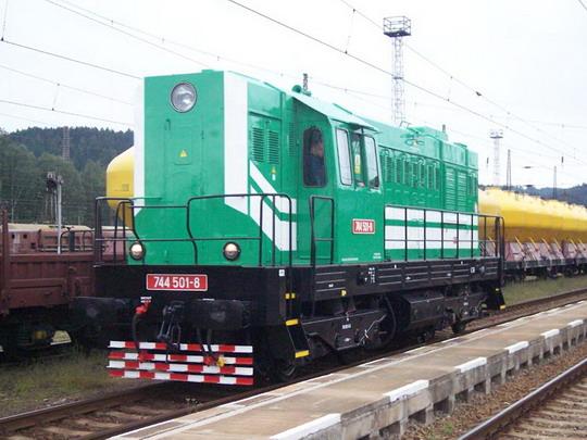 744.501, Č. Třebová 10.8.2005 © Václav Vyskočil