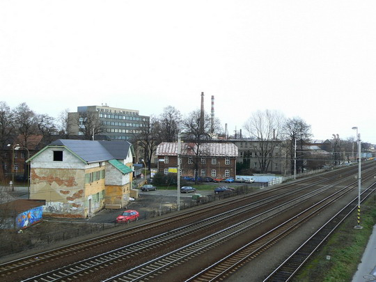 04.12.2007 - Studénka: pohled na budovy bývalé vagónky © Karel Furiš