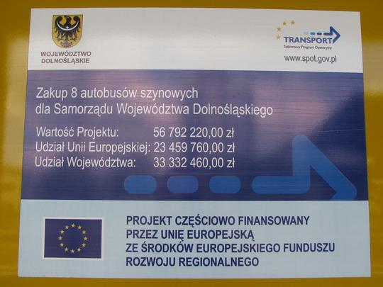 19.07.2008 - Jelenia Góra: informace na bočnici jednotek SA134, v tomto případě 006 © PhDr. Zbyněk Zlinský