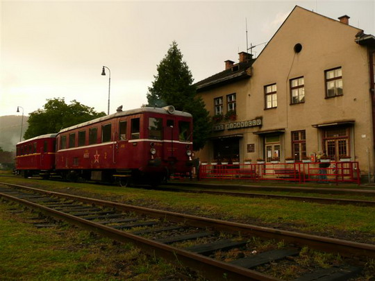 """9.8 2008 - Kokava: zátišie s """"Hurvínkom""""... © Jozef Michalko"""
