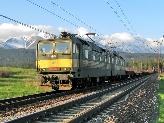 05.05.2008 - úsek Štrba - Važec: 131.089-5+131.090-3 s nákladním vlakem © PhDr. Zbyněk Zlinský