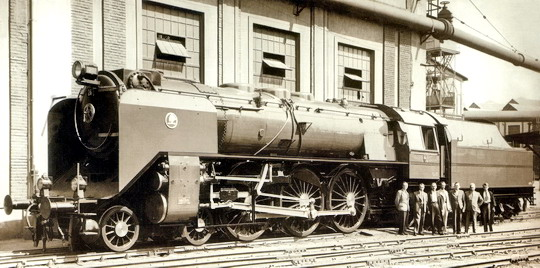 """1939 - Škoda Plzeň: poslední """"Litevka"""" Gp 26, pozdější 399.006, na továrním snímku"""