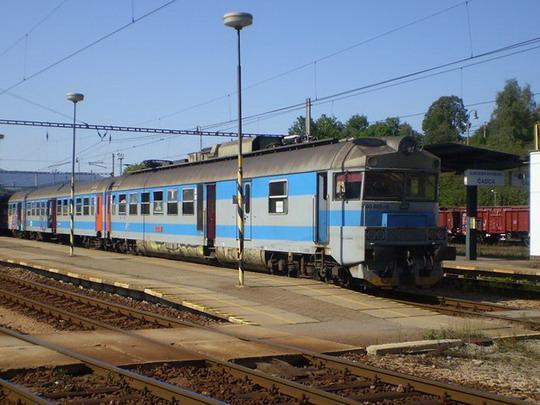 31. 8. 2008 - pantograf 460 s Os 2910 do Bohumína © Marek Kováč