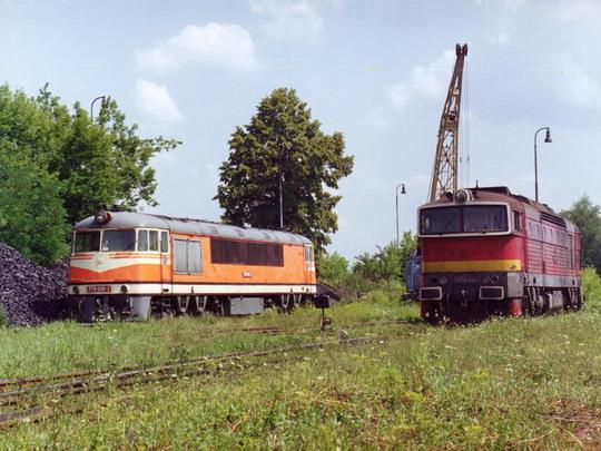 992 RD Lučenec – s kamarátkou T478.3200 ©  Gyorgy Róbert