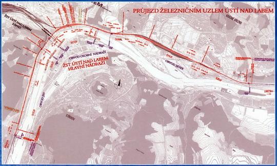 Mapa projektu z prospektu SKANSKA DS, a.s. - ZOBRAZ!
