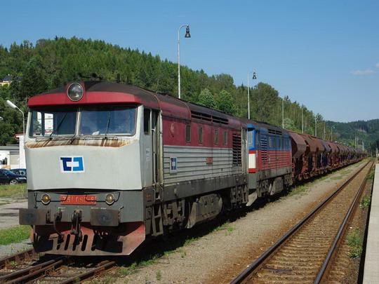 18.08.2008 - Náchod 751.093 + 119 Pn 44235, © Václav Vyskočil
