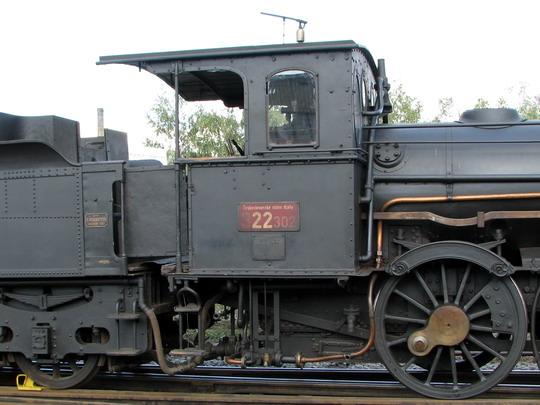 26.09.2008 - SOKV Ústí n.L.: budka stroje 322.302 © PhDr. Zbyněk Zlinský