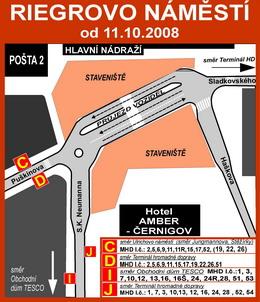 Zastávka Hlavní nádraží od 11.10.2008 na stránkách DPMHK - ZOBRAZ!