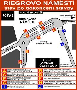 Zastávka Hlavní nádraží po dokončení stavby na stránkách DPMHK - ZOBRAZ!