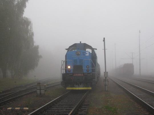 12.10.2008 - Rosice nad Labem: 730.016-3 s nákladním vlakem © PhDr. Zbyněk Zlinský